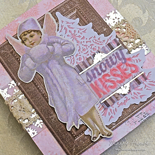 Snowy Kisses Gift Bag 2 by Margie Higuchi for Scrapbook Adhesives by 3L
