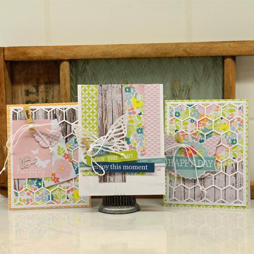 Spring Trio Cards by Laurel Seabrook