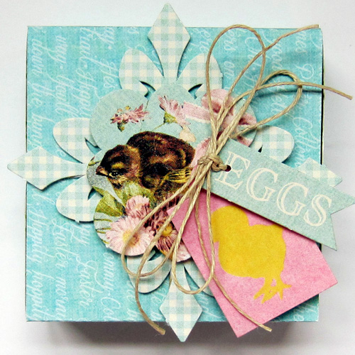 Easter Treat Box Two by Erica Houghton
