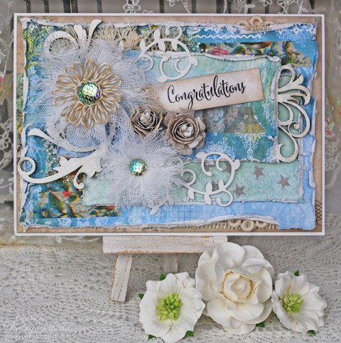 Congratulations Card by Tracey Sabella for Scrapbok Adhesives by 3L