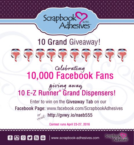 Giveaway of 10 E-Z Runner Grand Dispensers!