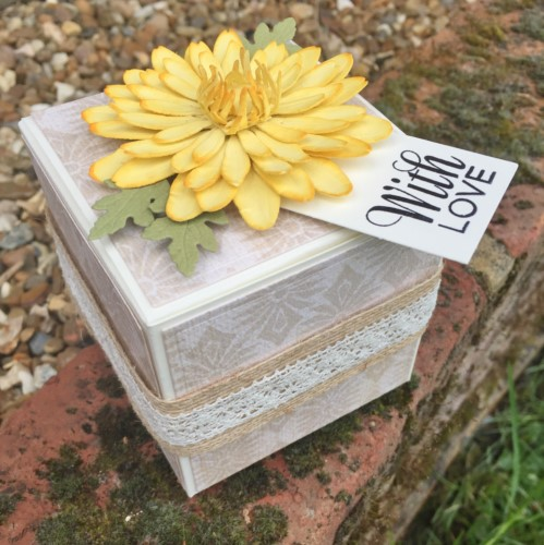 Flower Gift Box by Christine Emberson