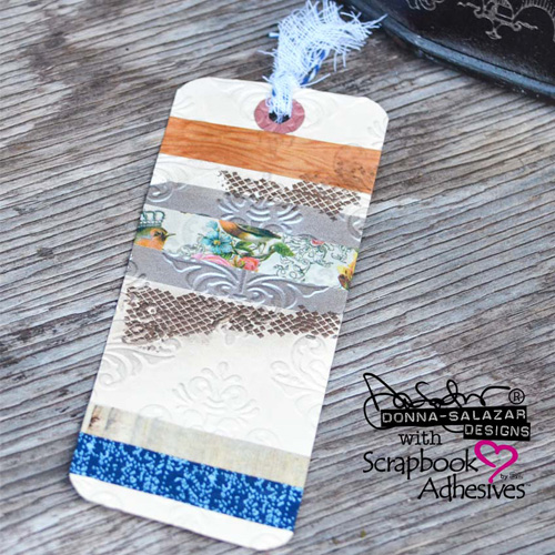 Easy DIY Bookmark by Donna Salazar