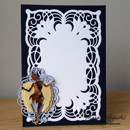 Angel Wings DIY Frame by Margie Higuchi