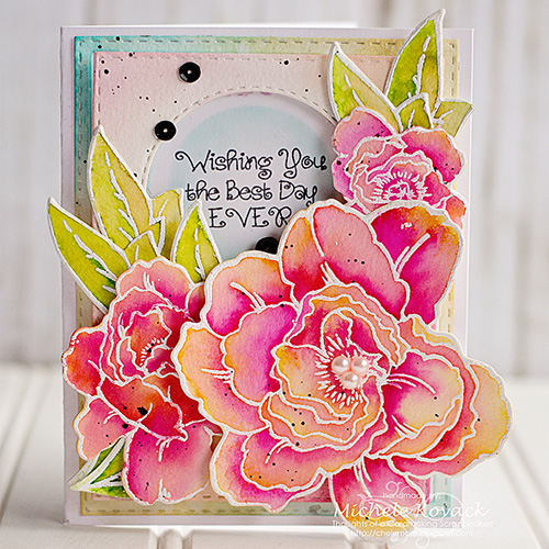 Best Day Ever Card by Michele Kovack 500
