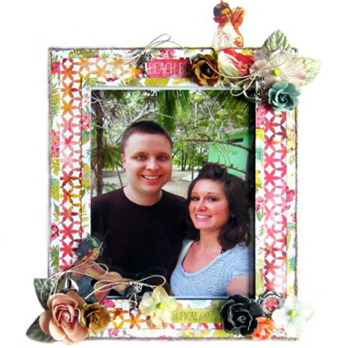 Altered Frame One by Erica Houghton