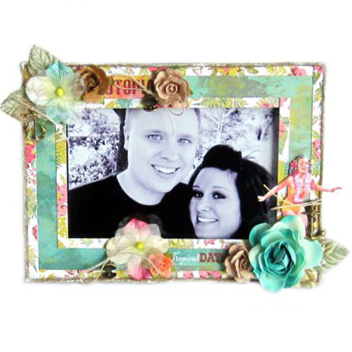 Altered Frame Two by Erica  Houghton