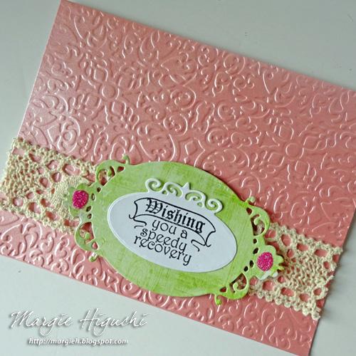 Wishing You Speedy Recovery Card by Margie Higuchi