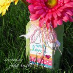 With Love Tag and Jar using Self-Laminating Card by Judy Hayes for Scrapbook adhesives by 3L