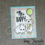 Up the Happy Card by Amy Tsuruta for Scrapbook Adhesives by 3L