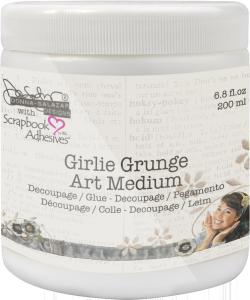 Girlie Grunge Art Medium by Donna Salazar with Scrapbook Adhesives by 3L