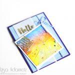 Hello Sunshine Card by Lisa Adametz for Scrapbook Adhesives by 3L