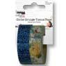 Girlie Grunge Tissue Tape Denim Flower