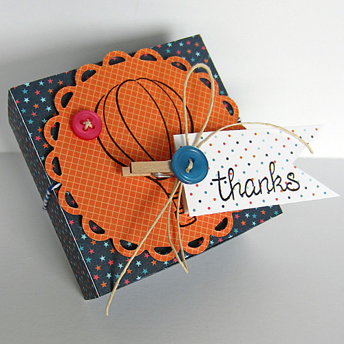 Thanks Box by Erica Houghton for Scrapbook Adhesives by 3L w Lawn Fawn Blog Hop SEPT16