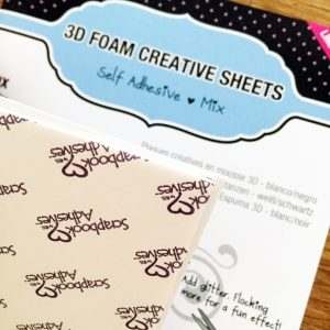 Enjoy Layout with 3D Foam Creative Sheets