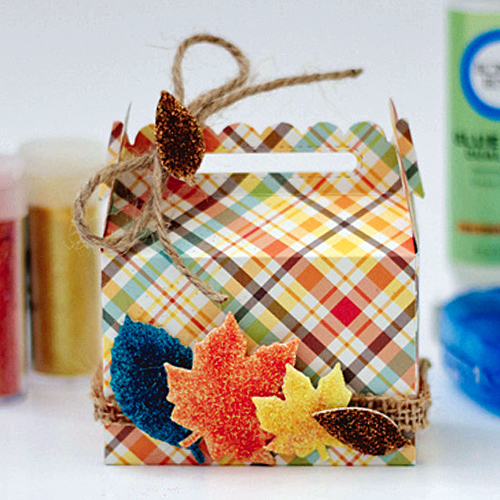 Fall Treat Box by Latisha Yoast for Scrapbook Adhesives by 3L w Lawn Fawn Blog Hop SEP16