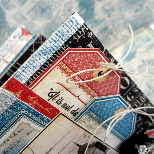Travel Mini Album 2 by Erica Houghton for Scrapbook Adhesives by 3L w Graphic 45 BlogHop OCT16