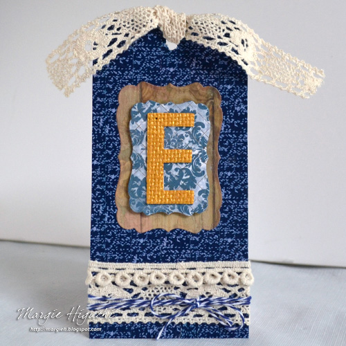 Girlie Grunge Ellen Tag by Margie Higuchi for Scrapbook Adhesives by 3L