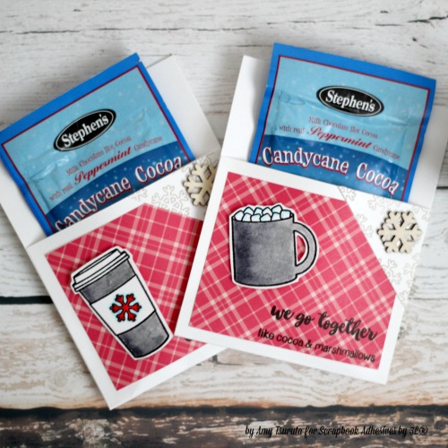Cocoa Gift Treat Envelopes by Amy Tsuruta