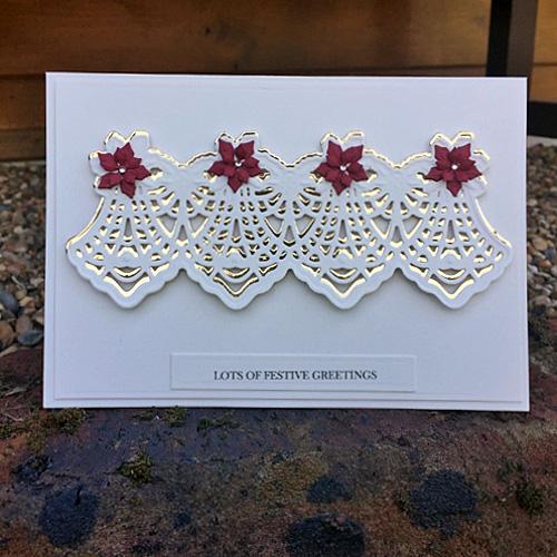 Festive Holiday Card by Christine Emberson