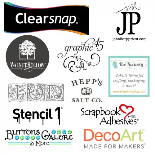 Handmade Holiday Blog Hop 2016 Sponsors - Scrapbook Adhesives by 3L