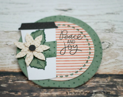 Peace and Joy Card2 by Amy Tsuruta for Scrapbook Adhesives by 3L