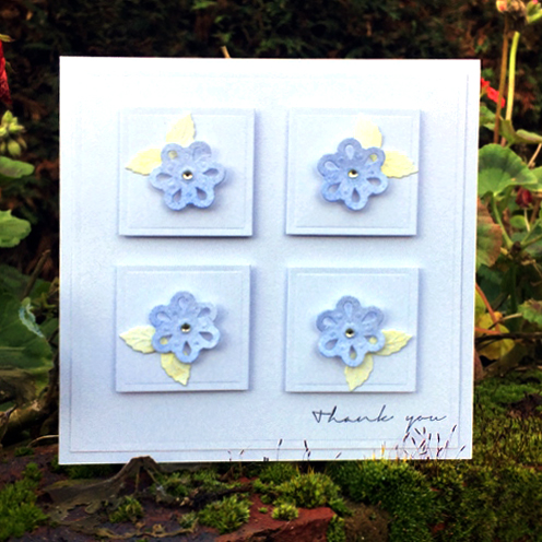 Thank You Card by Christine Emberson for Scrapbook Adhesives by 3L