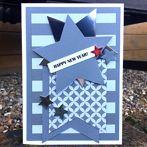 Happy New Year 2017 Card by Christine Emberson for Scrapbook Adhesives by 3L Seasons Givings