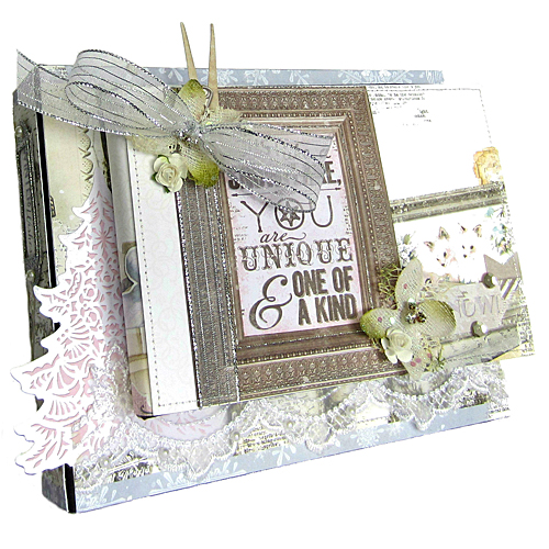 Winter WIshes Mini Album by Erica Houghton for Scrapbook Adhesives by 3L