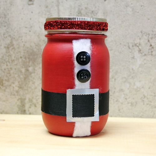 DIY Santa Jar by Tami Mayberry for Scrapbook Adhesives by 3L