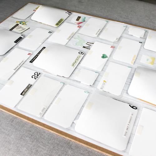 Keepsake Envelopes Advent Calendar by Stephanie Schütze