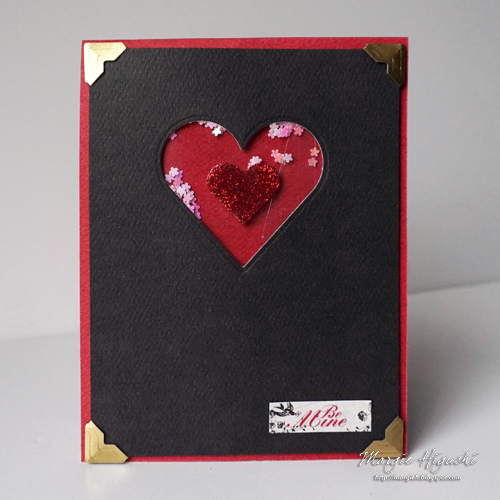 Valentine Twist Pop-Up Card by Margie Higuchi for Scrapbook Adhesives by 3L