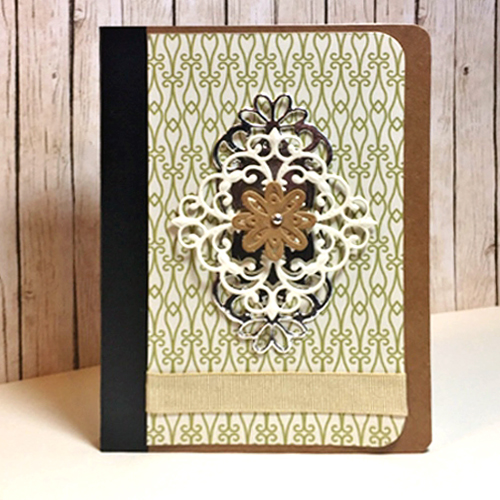 Personalized Notebook by Christine Emberson for Scrapbook Adhesives by 3L