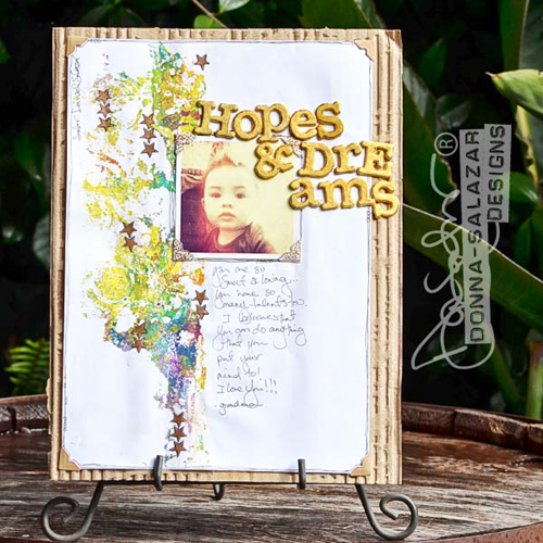 Hopes and Dream Scrapbook Page by Donna Salazar for Scrapbook Adhesives by 3L