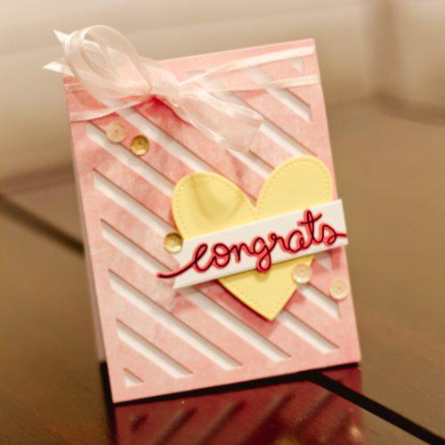 Layered Congrats Card by Latisha Yoast