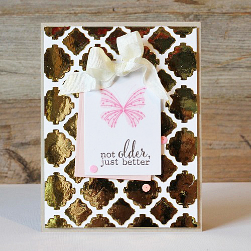 Butterfly Birthday Card by AJ Otto for Scrapbook Adhesives by 3L