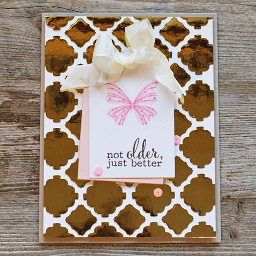 Butterfly Birthday Card 2 by AJ Otto for Scrapbook Adhesives by 3L