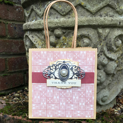 Easily Embellished Gift Bag by Christine Emberson for Scrapbook Adhesives by 3L