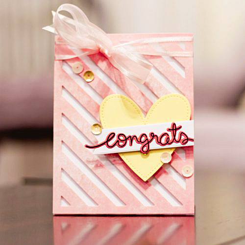 Congrats Card by Latisha Yoast for Scrapbook Adhesives by 3L
