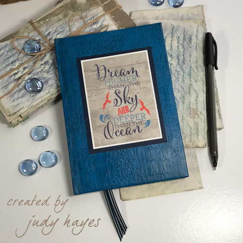 Altered Journal Gift by Judy Hayes