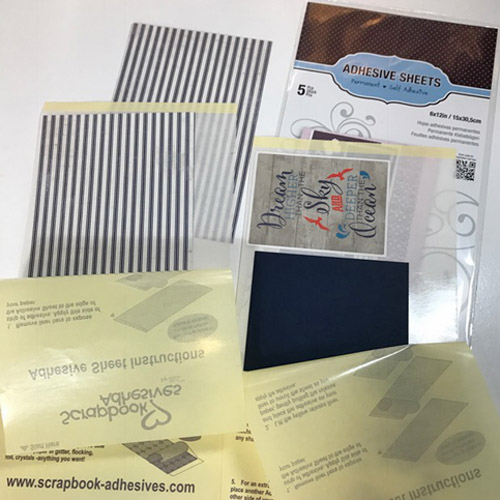 Accent a Journal with Paint, Paper and Adhesive Sheets by Judy Hayes for Scrapbook Adhesives by 3L