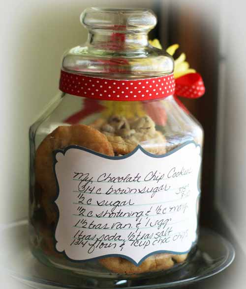 Get your happy on cookie jar recipe