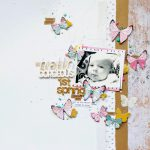 1st Spring Scrapbooking Layout with 3D Foam Shapes by Jana Maiwald-McCarthy for Scrapbook Adhesives by 3L