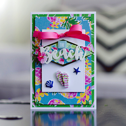 Beach Card by Latisha Yoast for Scrapbook Adhesives by 3L/PHP BHop17