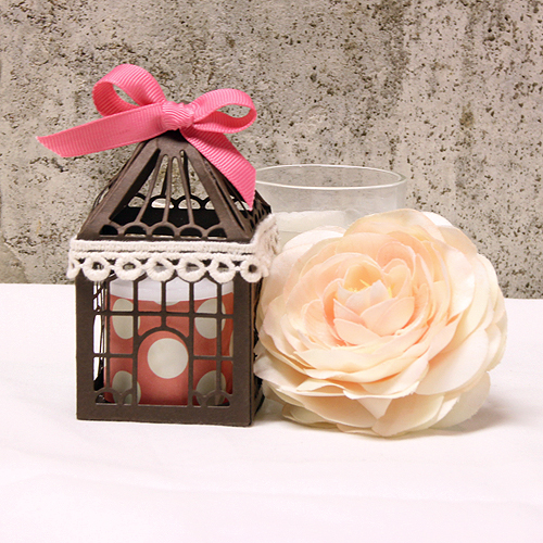 Adorable Bird House Party Favor by Tami Mayberry for Scrapbook Adhesives by 3L