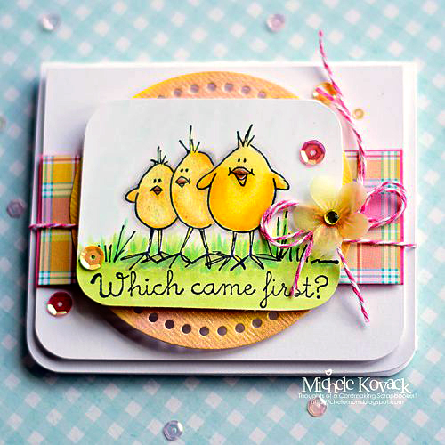 Easter Chicks and My Obsession with Crafty Foam Tape by Michele Kovack for Scrapbook Adhesives by 3L