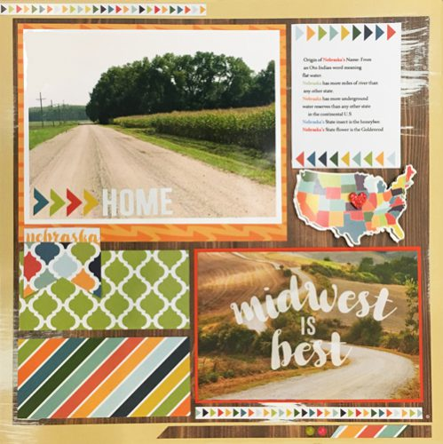 Midwest is Best by Vicki Chrisman for Scrapbook Adhesives by 3L/PHP BHop