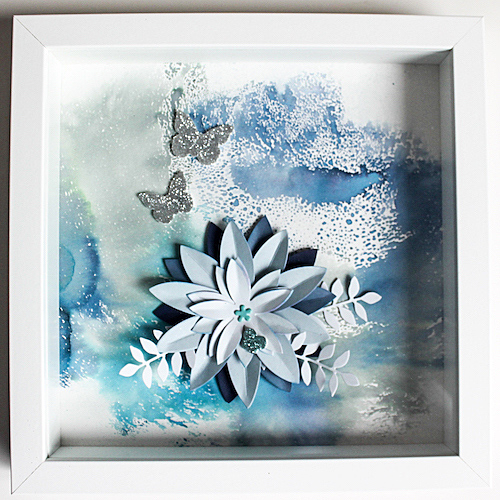 Flower Frame by Stephanie Schutze for Scrapbook Adhesives by 3L