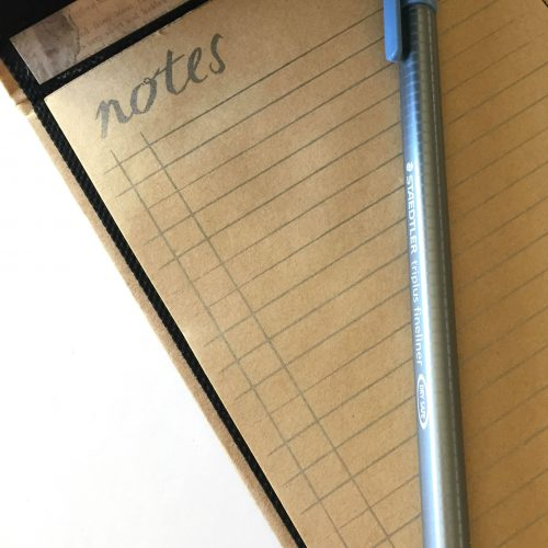 Thank You Notebook with Extreme Double-Sided Tape