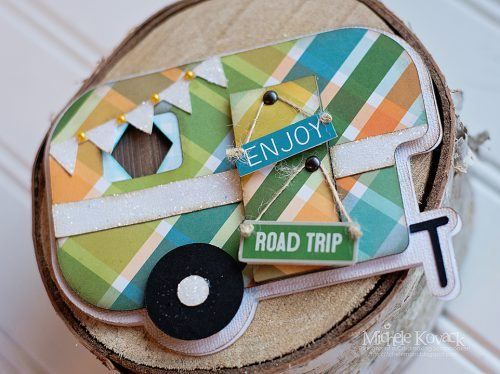 Road Trip Camper Card by Michele Kovack for Scrapbook Adhesives by 3L